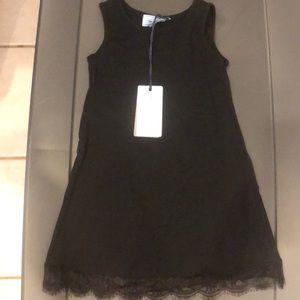 Mimi Sol Black Frill Dress